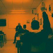 Taller de fotografía de boda en el instituto de 'La Granja', Jerez